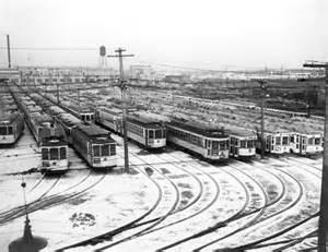 Old Detroit Street Car System