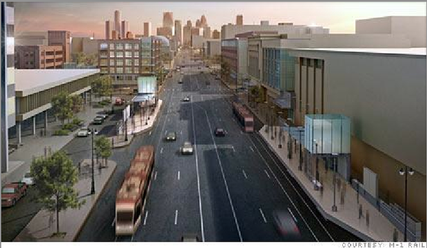 New Streetcar System Will Help Detroit Recover