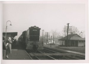 Haworth NY Railroad Station