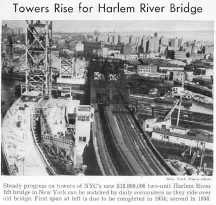 Harlem River Bridge: Only Metro North Removable Bridge In New Yotk State