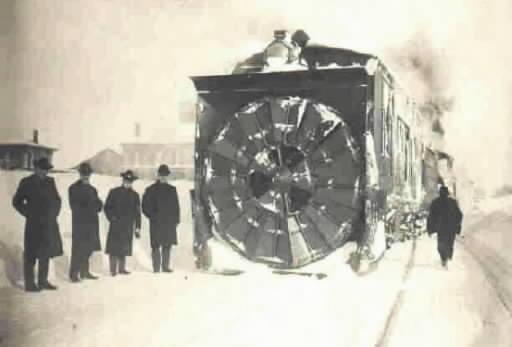 Winter, Snow and Railroads