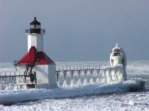 Lighthouses in St Joseph, Michigan
