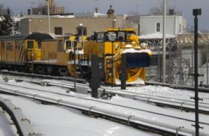 NY City Transit Authority Snow Equipment