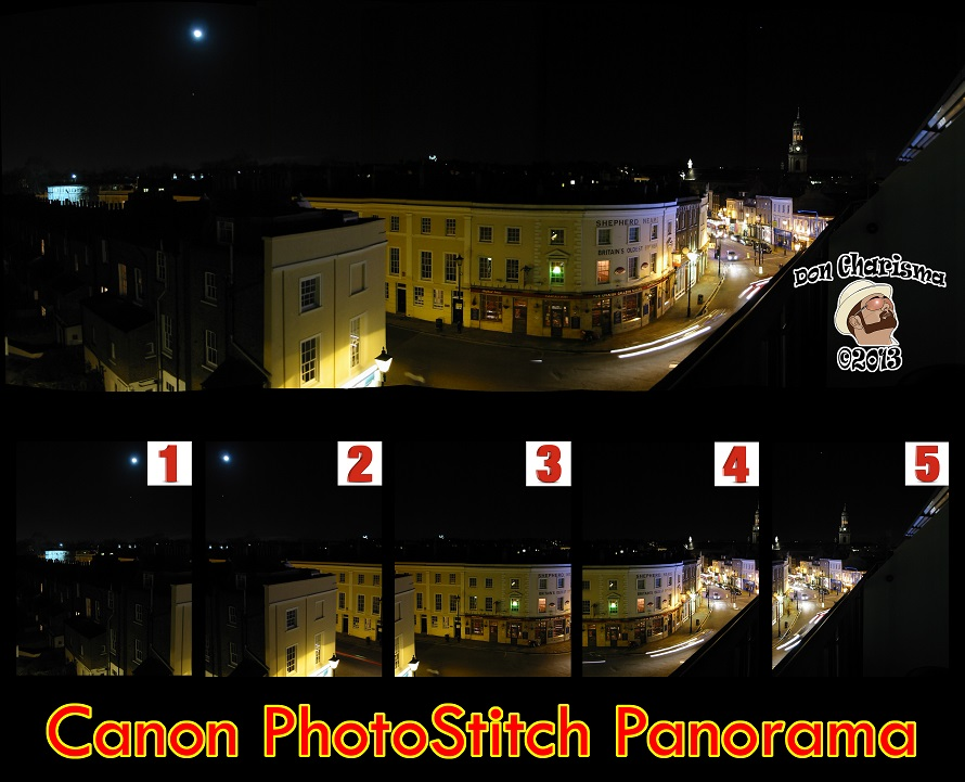 How to get Canon PhotoStitch Panorama and Photo Stitching software for free