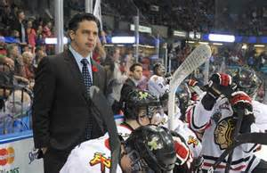 Utica Comets Travis Green for All-Star Coach