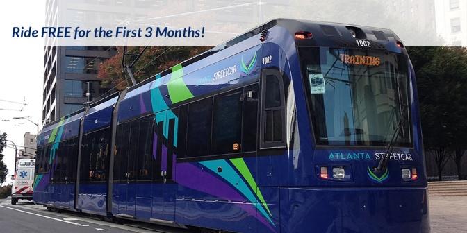 Atlanta Initiates Streetcar Service