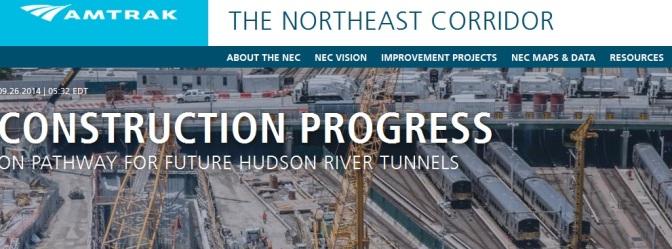 Amtrak launches Northeast Corridor website