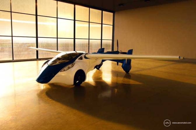 YOU'VE seen a convertible, now check out the latest real life transformer: the AeroMobil