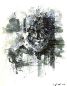 Ezra Pound Portrait by FcoGoya From pinterest.com
