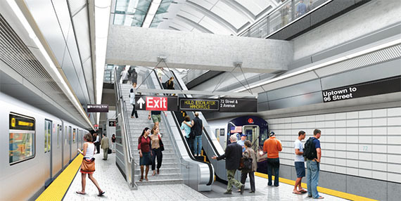 Second Avenue Subway's Next Phase Threatened With Delay's
