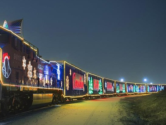 Holiday Trains in Action.