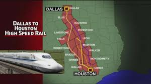 High-Speed Rail Will Spur Economic Benefits Across Texas