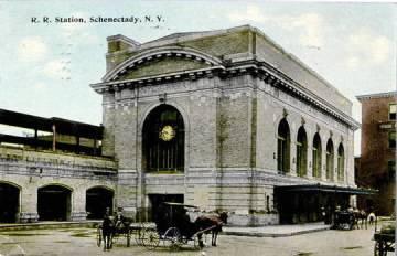 New York State DOT plots new Amtrak station in Schenectady
