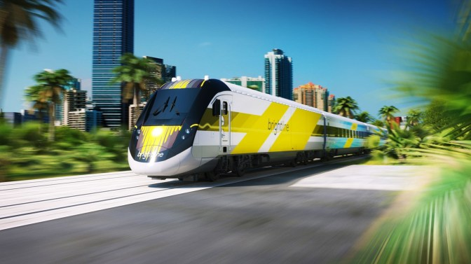 Upcoming Florida rail service named Brightline