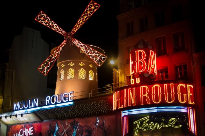 Topless in Paris