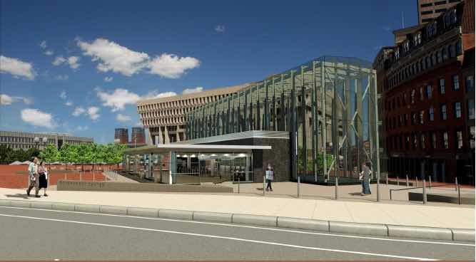 Boston MBTA unveils rehabbed Government Center Station