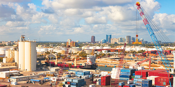 Port Everglades Container Terminals Equipped for SOLAS Weight Verification