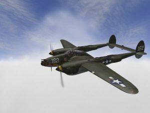 P-38 Lightning, New Guinea 1944, Col. Perry Dahl, pilot