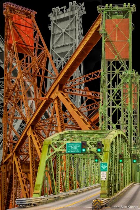 Portland, Oregon Bridge Series 2: Hawthorne Bridge