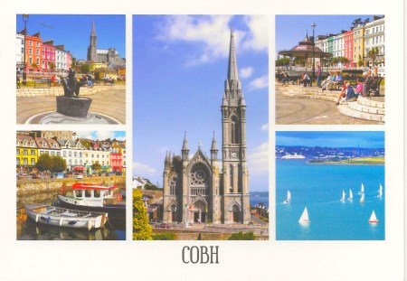 Cobh Postcard