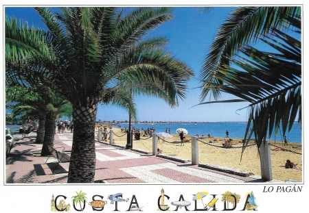 Costa Calida Postcard
