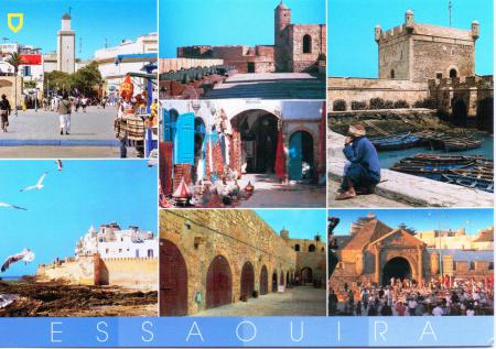 Essaouira Postcard