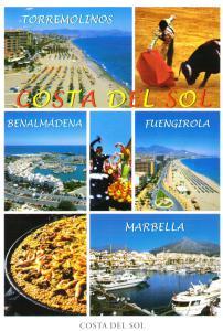 Costa Del Sol Postcard