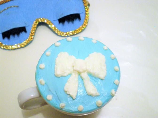 TIFFANY'S MUG CAKE