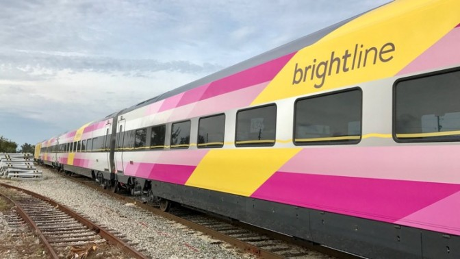 BRIGHTLINE'S Second Train Arrives, Limited Service To Start In July