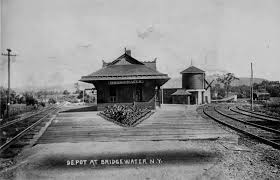 The depot At Bridgewater, New York