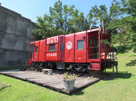 Old C2445 B&O Caboose Grafton West Virginia