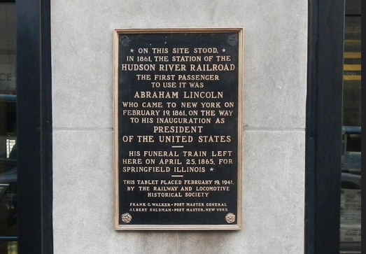 POTUS: Lincoln and NY Central Trains