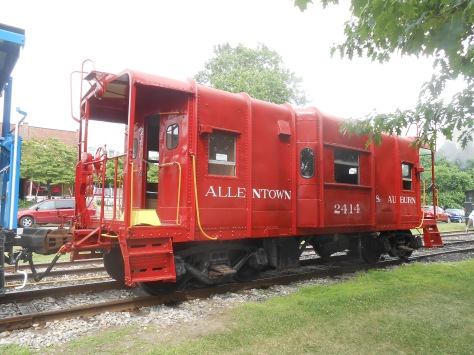 Allentown and Auburn Caboose Kutztown Pennsylvania