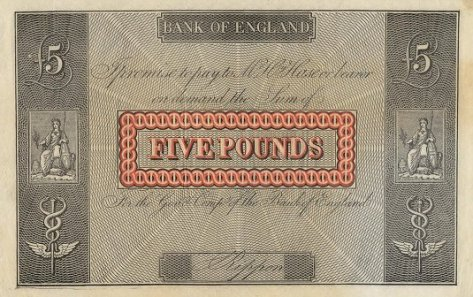 Applegath Bank Note Print