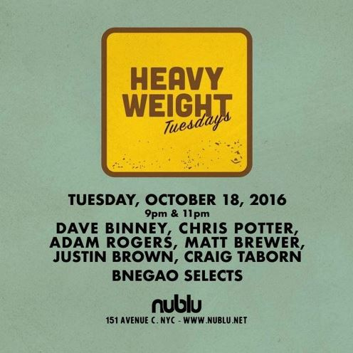 HeavyWeights group » NuBlu, NYC 2016
