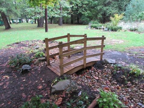 Little Bridge at Memorial Park New Kensington Pennsylvania