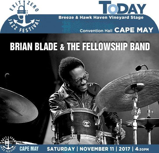 BRIAN BLADE & THE FELLOWSHIP BAND » EXIT ZERO JAZZ FESTIVAL