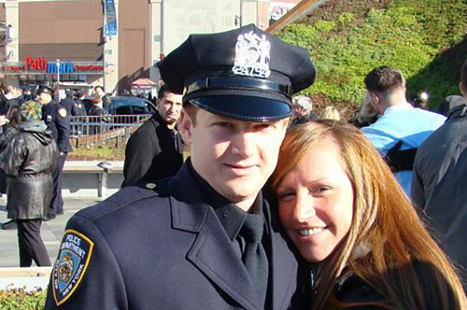 Hero cop stopped terror suspect's NYC killing spree