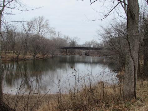 Railroad Bridge Monocacy River Frederick Maryland
