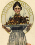 Thanksgiving by Rockwell
