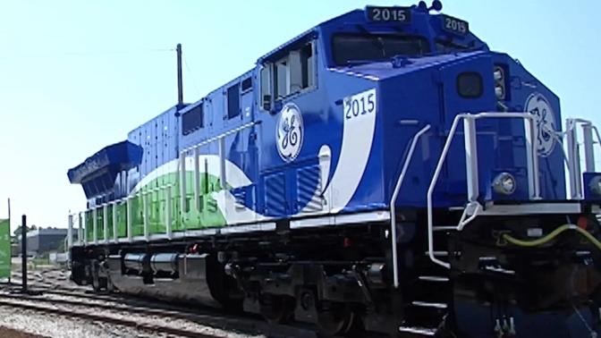 General Electric Rethinks Locomotive Assembly