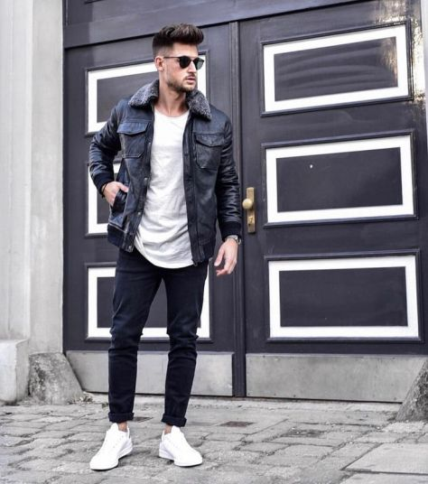 Men's Guide to wearing White Sneaker